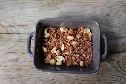 chouchous, cacahuètes et caramel