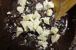 mélange chocolats noir et blanc