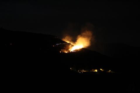incendie saint julien d'arpaon