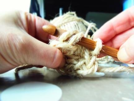 diy panier crochet