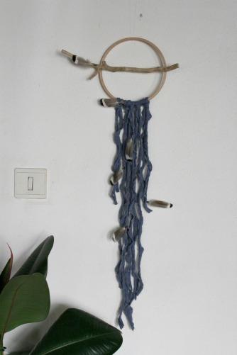 dreamcatcher Batz, driftwood, bleu