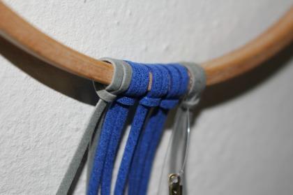 dreamcatcher bleu électrique