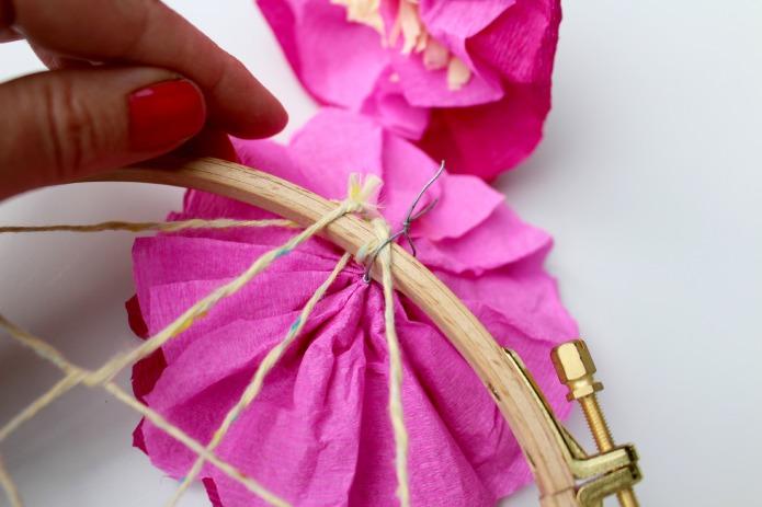 attrape reve fleur papier