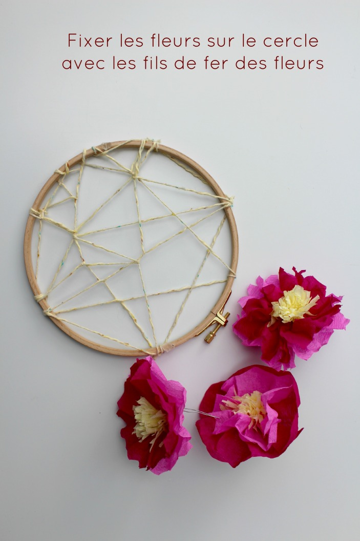 diy dreamcatcher flowers