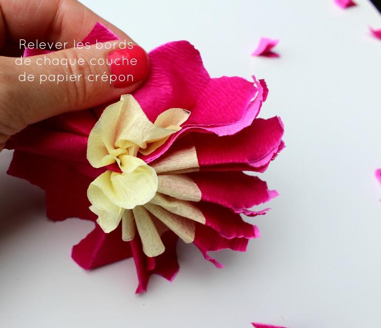 diy fleurs papiers