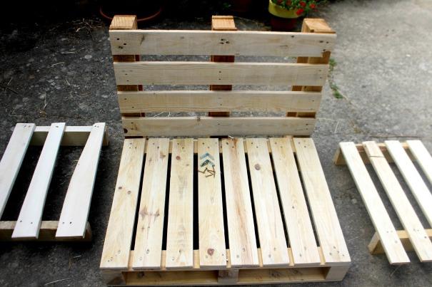 DIY meuble palette