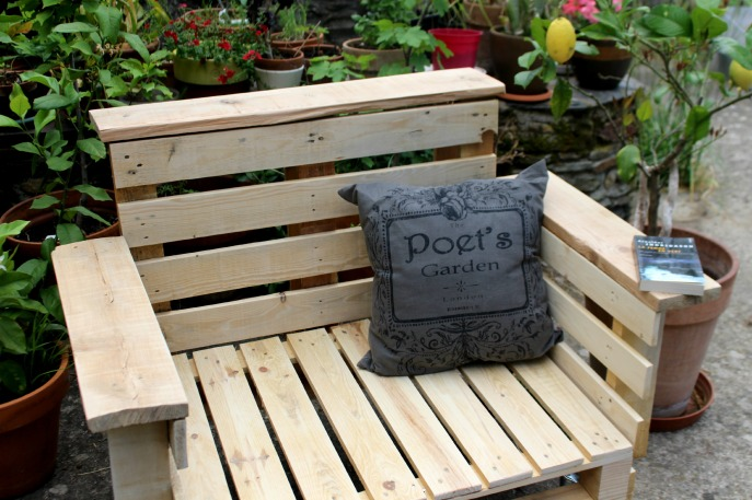 fauteuil upcycling outdoor