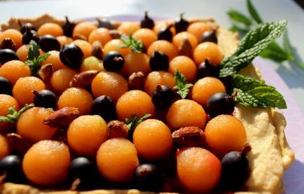recette dessert au melon et groseilles à maquereau