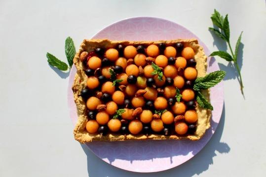 recette melon et groseilles à maquereau
