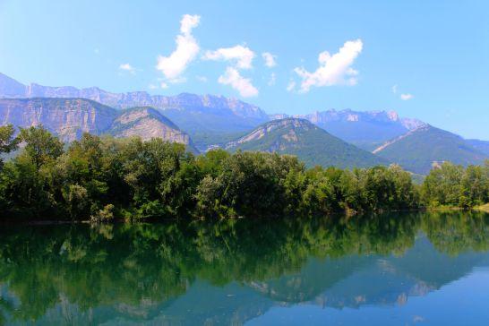 gravières près de Grenoble