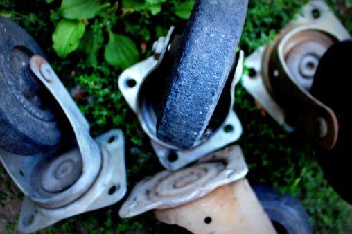 roues banc palette