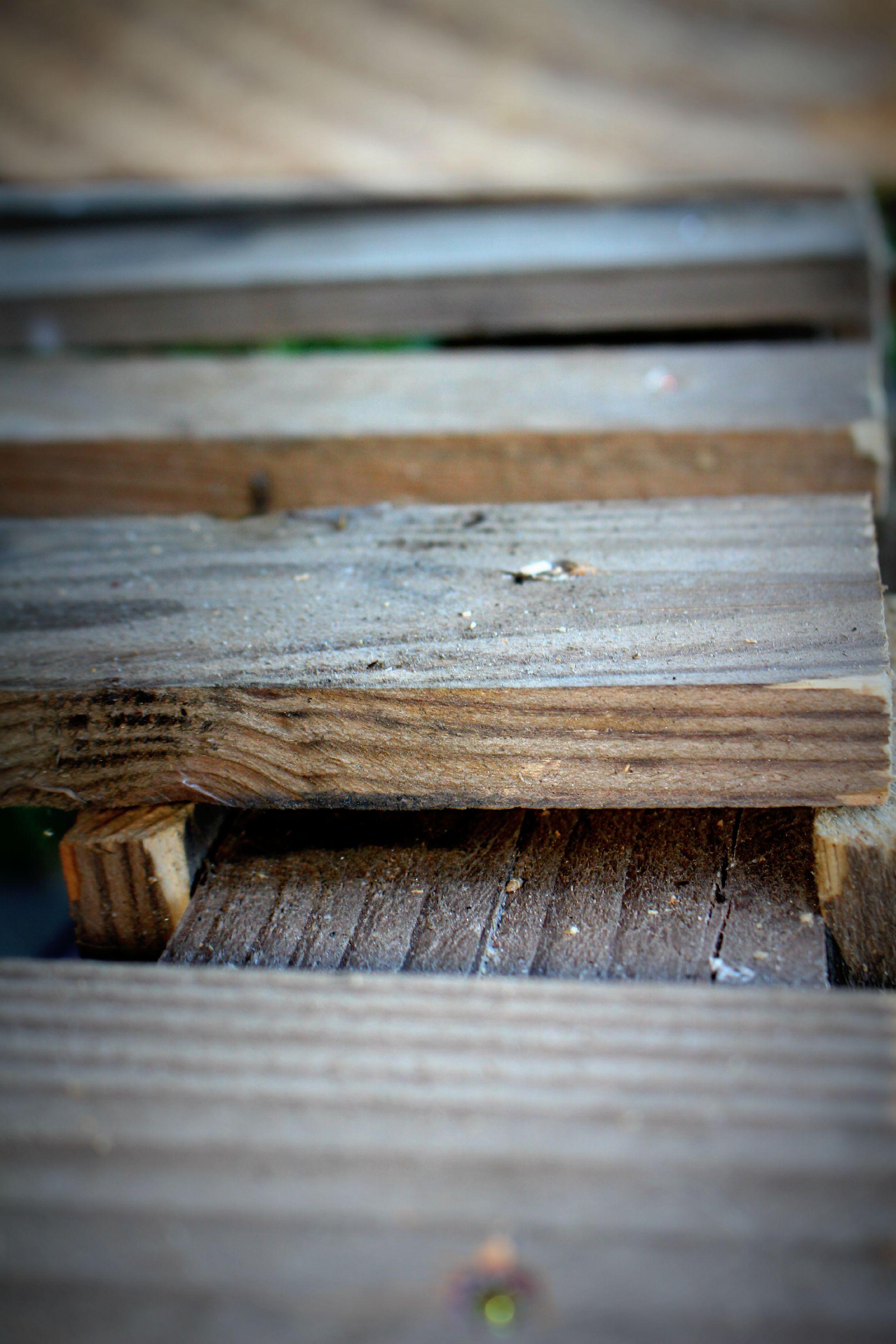 Diy un banc en palette rapide woodhappen - Tuto meuble en palette ...