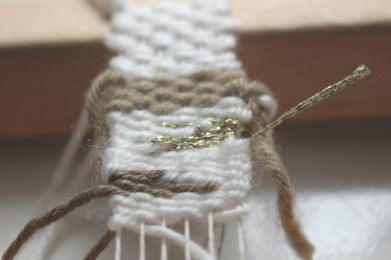 diy weaving photo