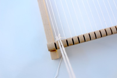 technique nœud des franges weaving