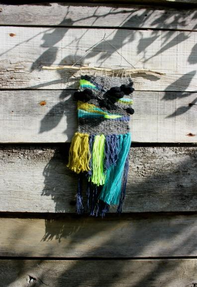 tissage woodhappen collection néon