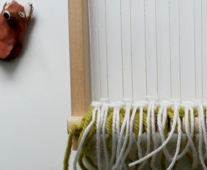 technique weaving, noeud rya
