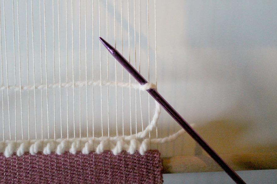 technique pour faire des boucles en tissage