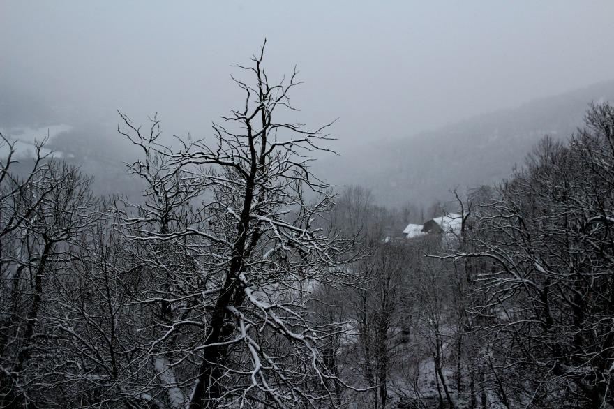 cevennes sous la neige