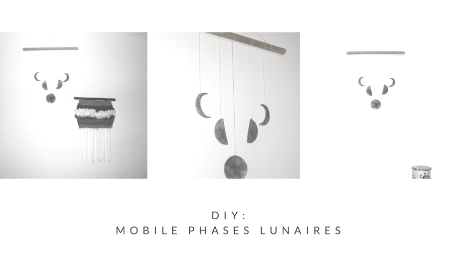 DIY- MOBILE MURAL PHASES LUNAIRES BY WOODHAPPEN