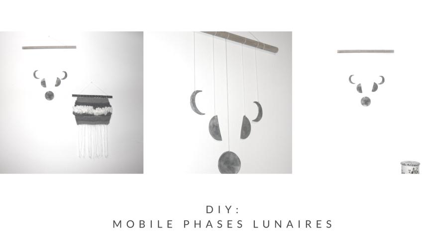 DIY- MOBILE MURAL PHASES LUNAIRES BY WOODHAPPEN