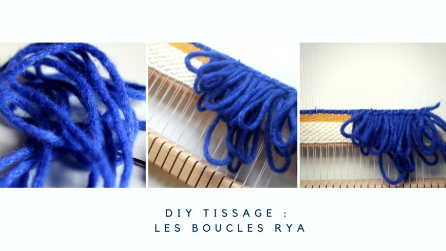 DIY tissage les boucles rya woodhappen