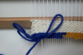 leçon de tissage woodhappen les boucles