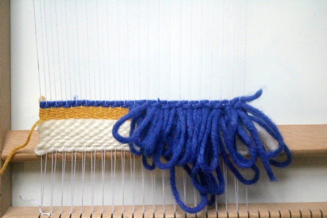 technique de tissage les boucles RYA by woodhappen