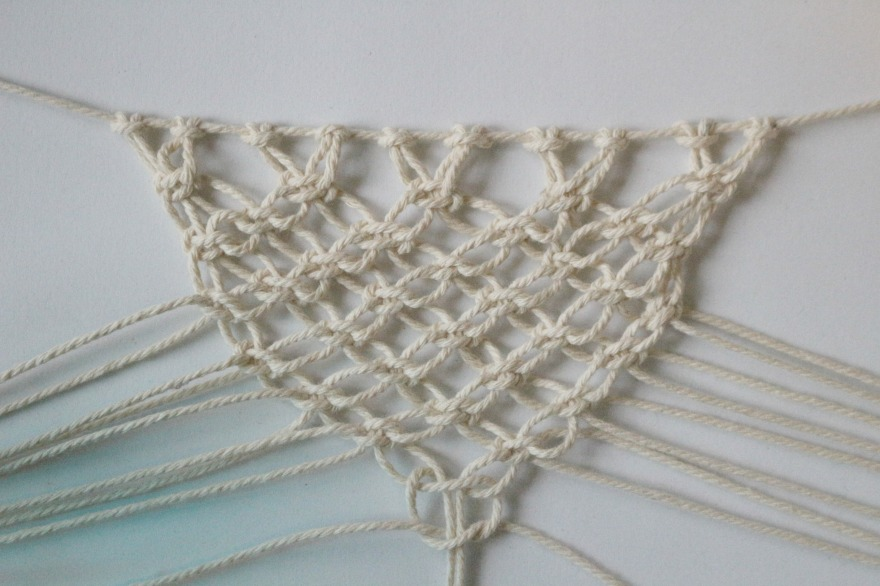 triangle macramé woodhappen