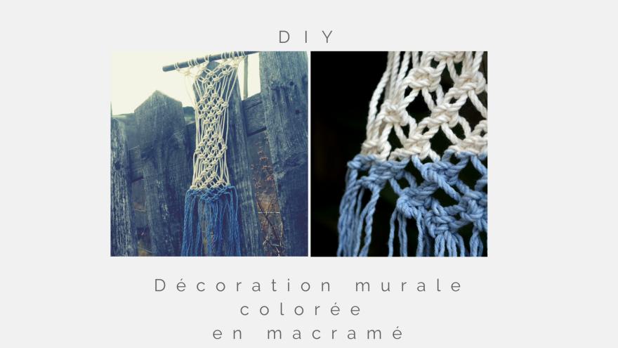 DIY décoration murale colorée woodhappen