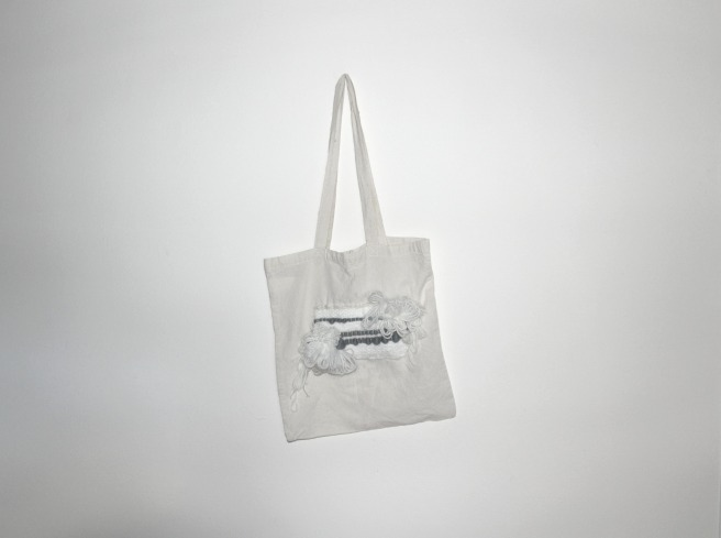 DIY tote bag tissage by woodhappen