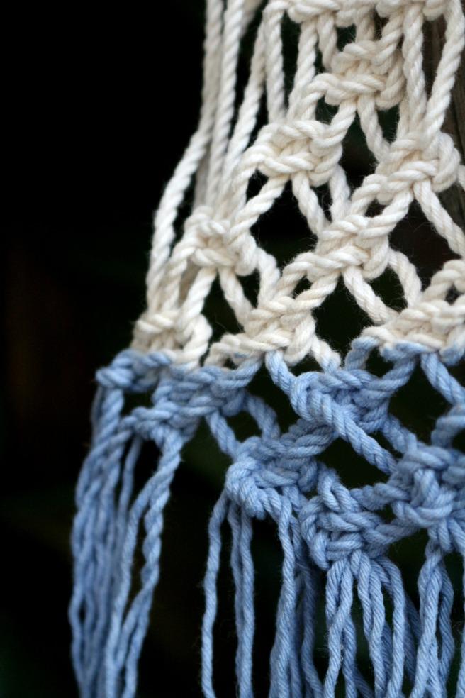 macramé tie and dye by woodhappen