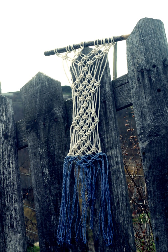 macramé tie and dye  woodhappen