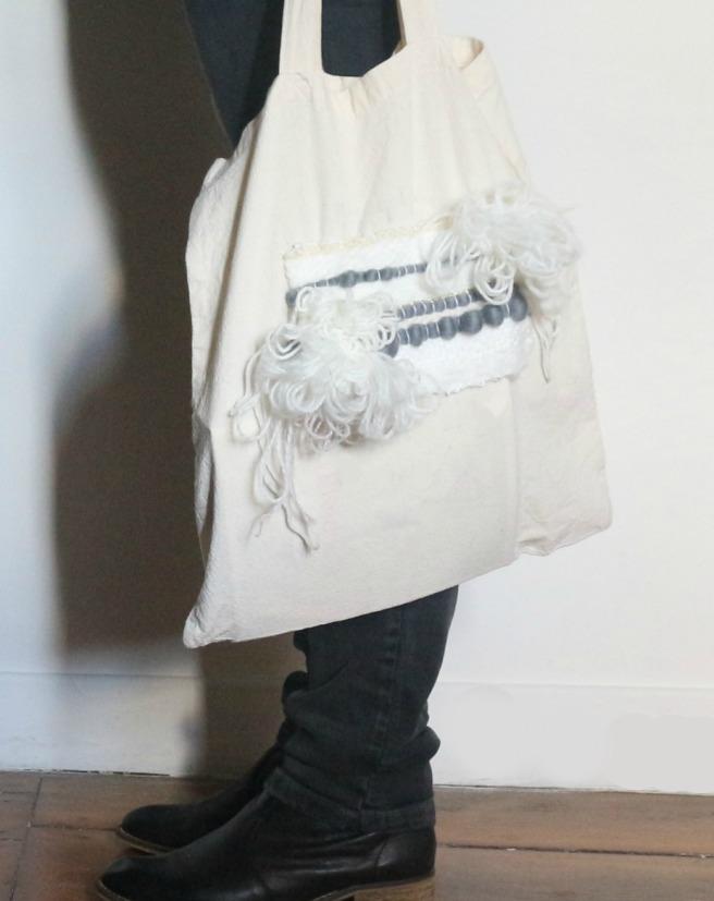 Tote bag by woodhappen en tissage