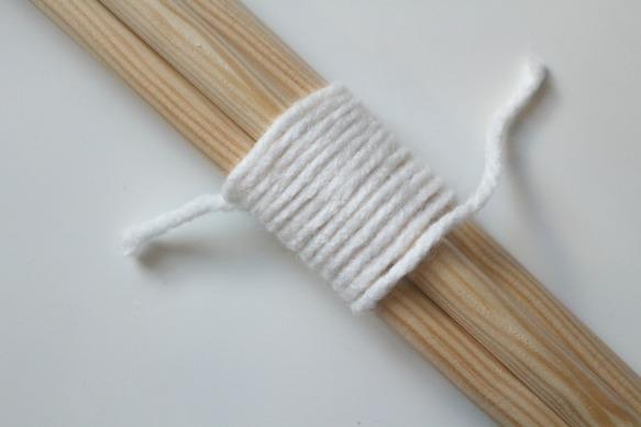 tuto bois laine woodhappen