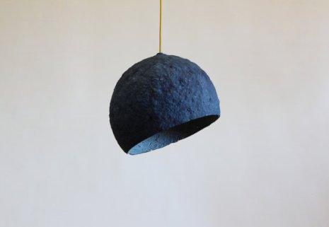 lampe bleu