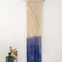 macramé bleu