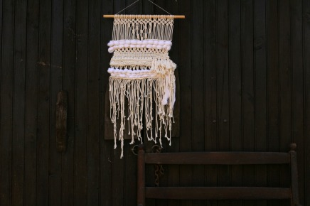 décoration kinfolk tissage et macramé by woodhappen