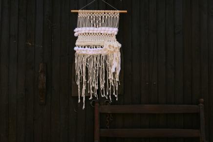décoration kinfolk tissage et macramé by woodhappen