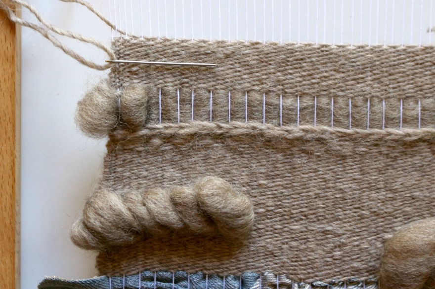 technique de tissage laine