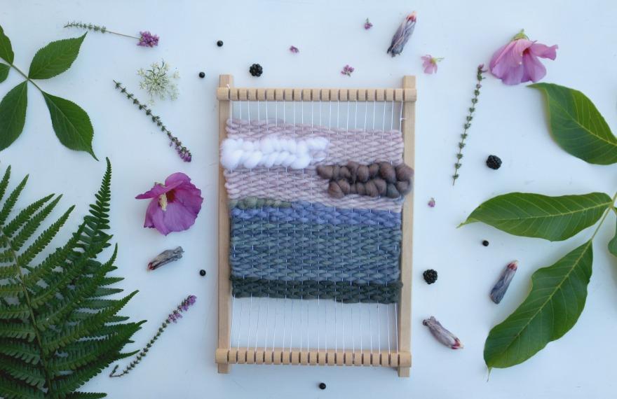 tissage moderne et teinture végétale