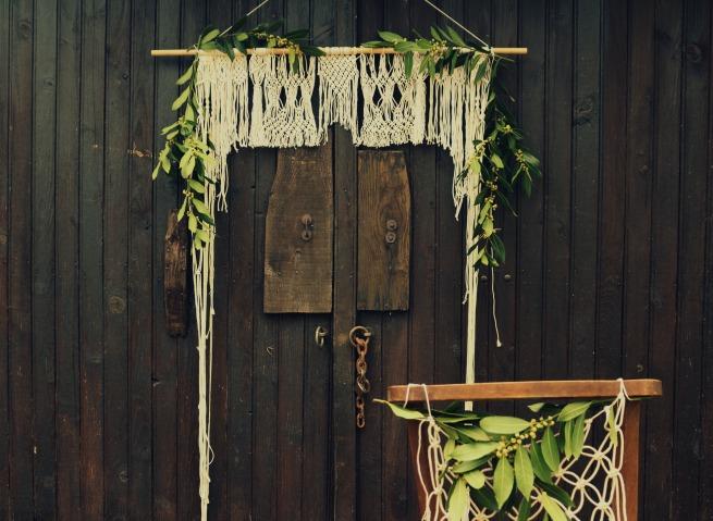 décoration mariage cantal macramé woodhappen