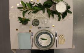 Décoration table mariage macramé woodhappen