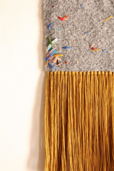 fiberart weaving and embroideries