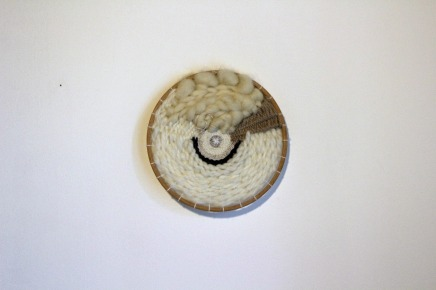 tissage circulaire, circle weaving woodhappen