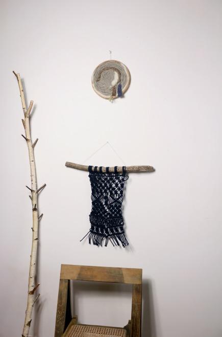 Tissage et macramé woodhappen