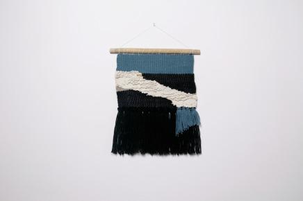 Tissagee contemporain et graphique woodhappen
