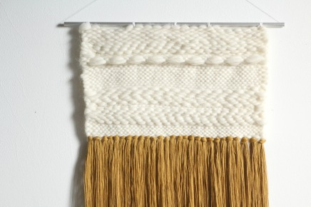 woven wallhanging woodhappen
