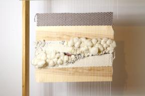 art textile tissage bois woodhappen