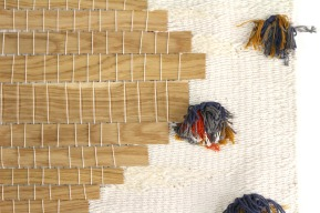 tissage bois et textile