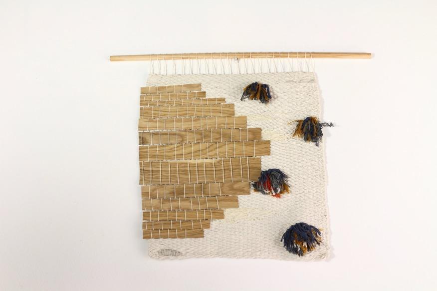 tissage moderne bois